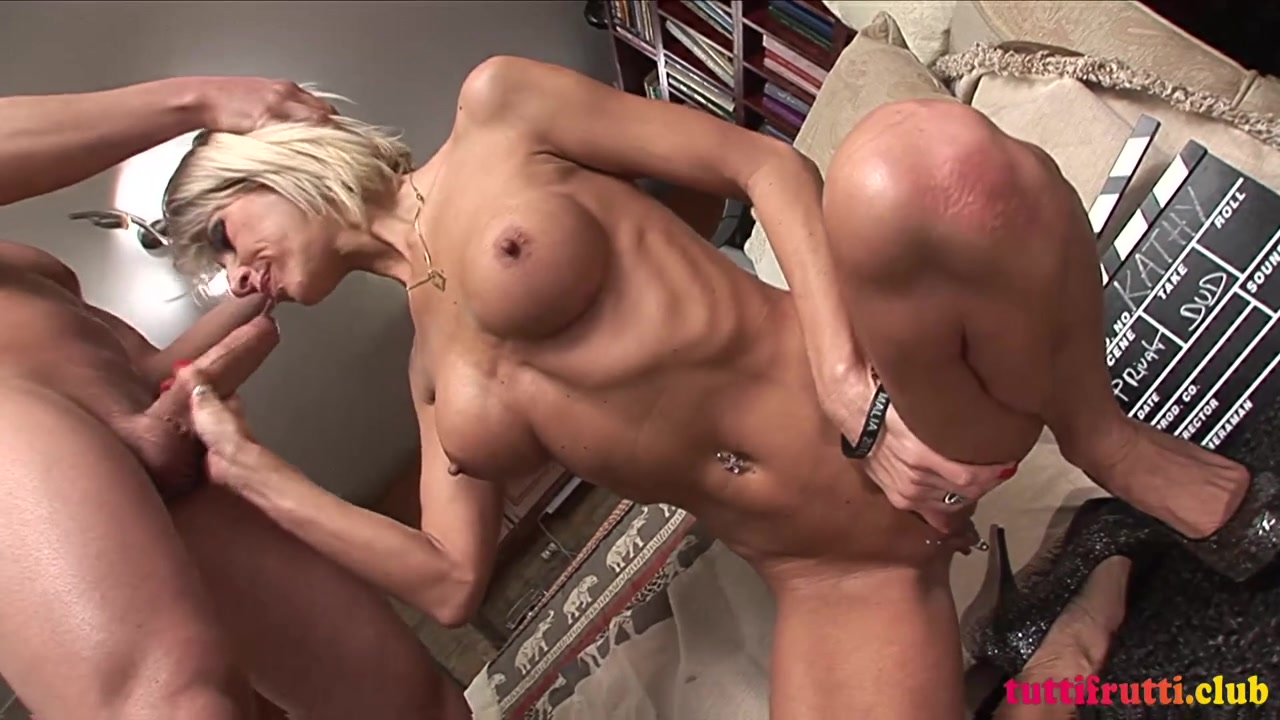 Hungarian Blonde MILF Katie fucked and facialized - euro big fake tits