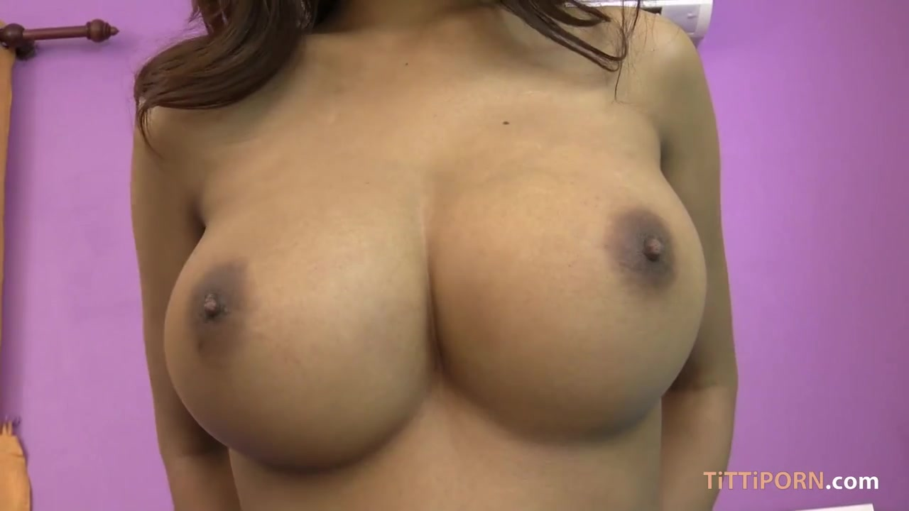 Thai Asian with huge natural tits in POV hardcore action with blowjob