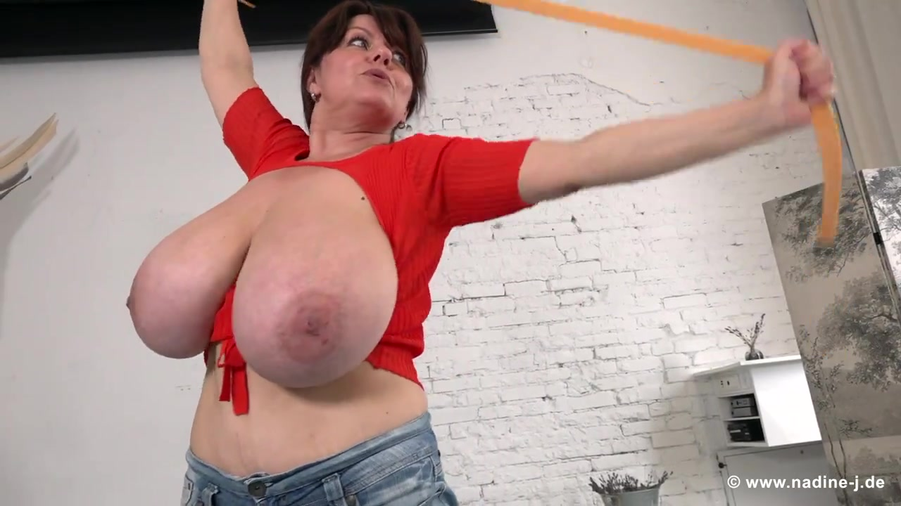 Fitness workout with incredible Polish lady Milena V - euro monster boobs unleashed