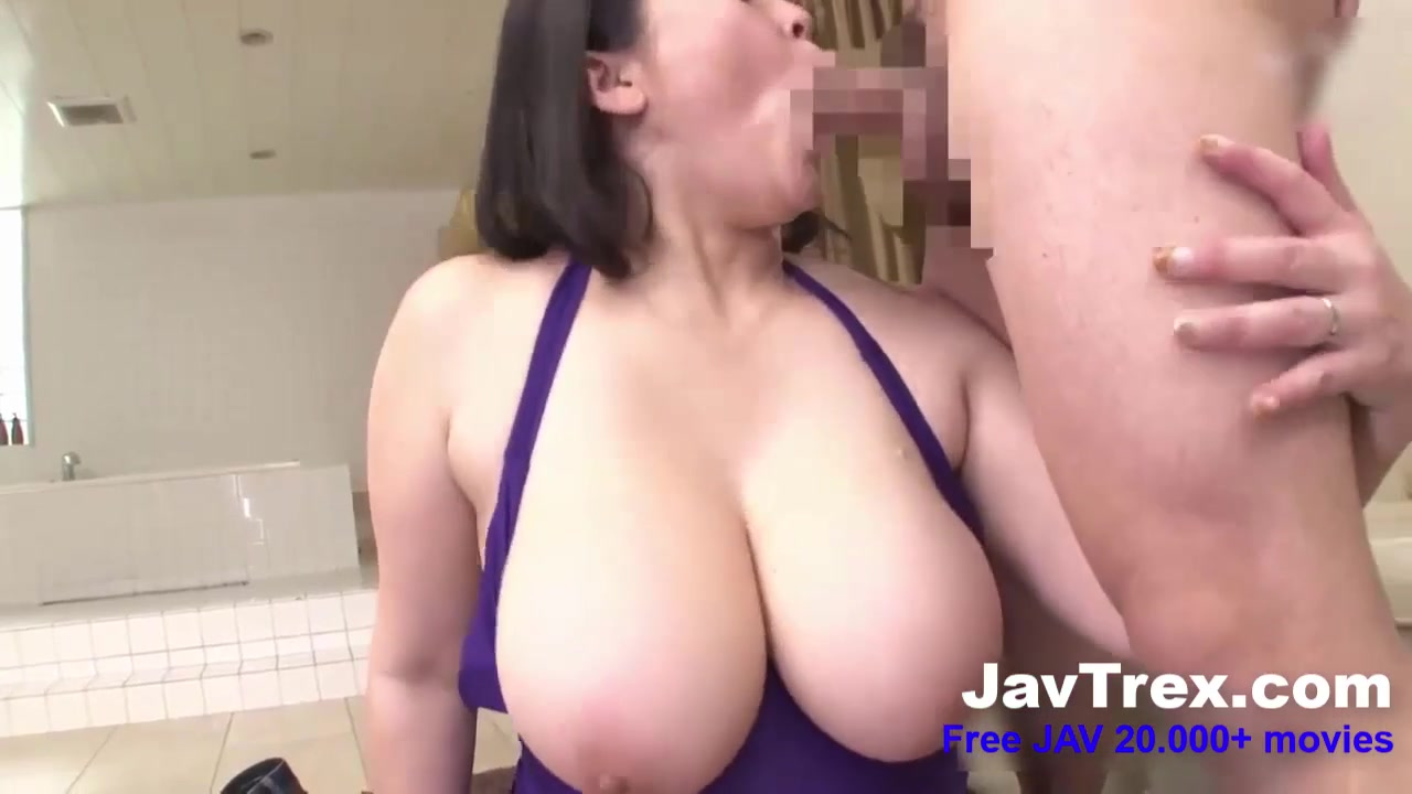 Curvy JAV MILF with Big Natural Boobs & Big Ass in hardcore with cumshot