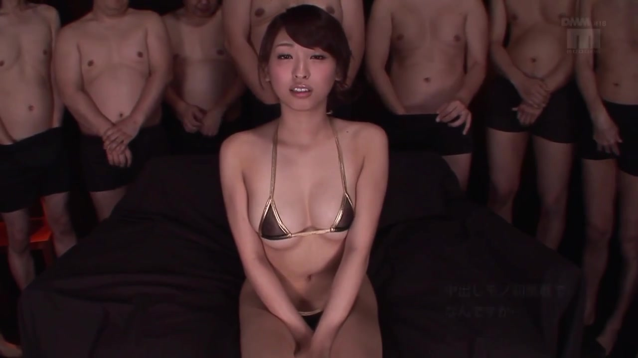 wow! super Japanese pussy filled by creampie cumshot - Asian tits
