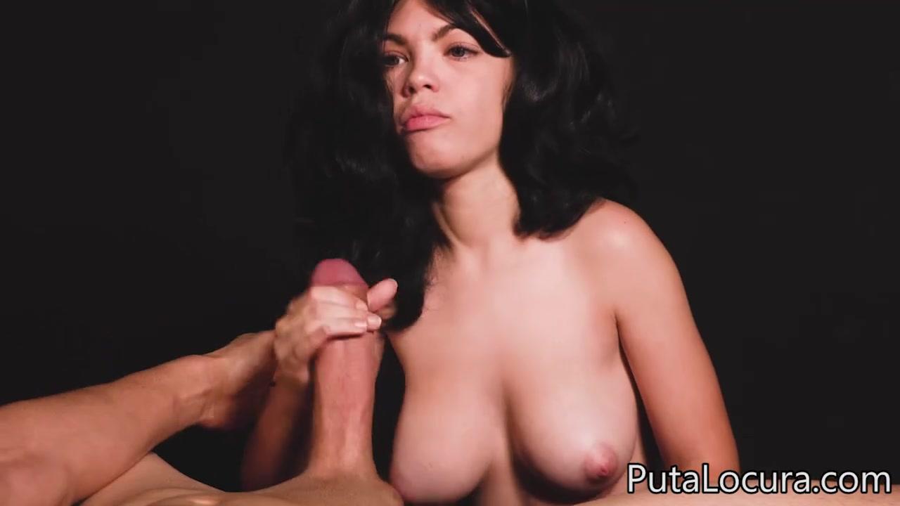 Spanish babe Dayana Teen - POV blowjob & handjob